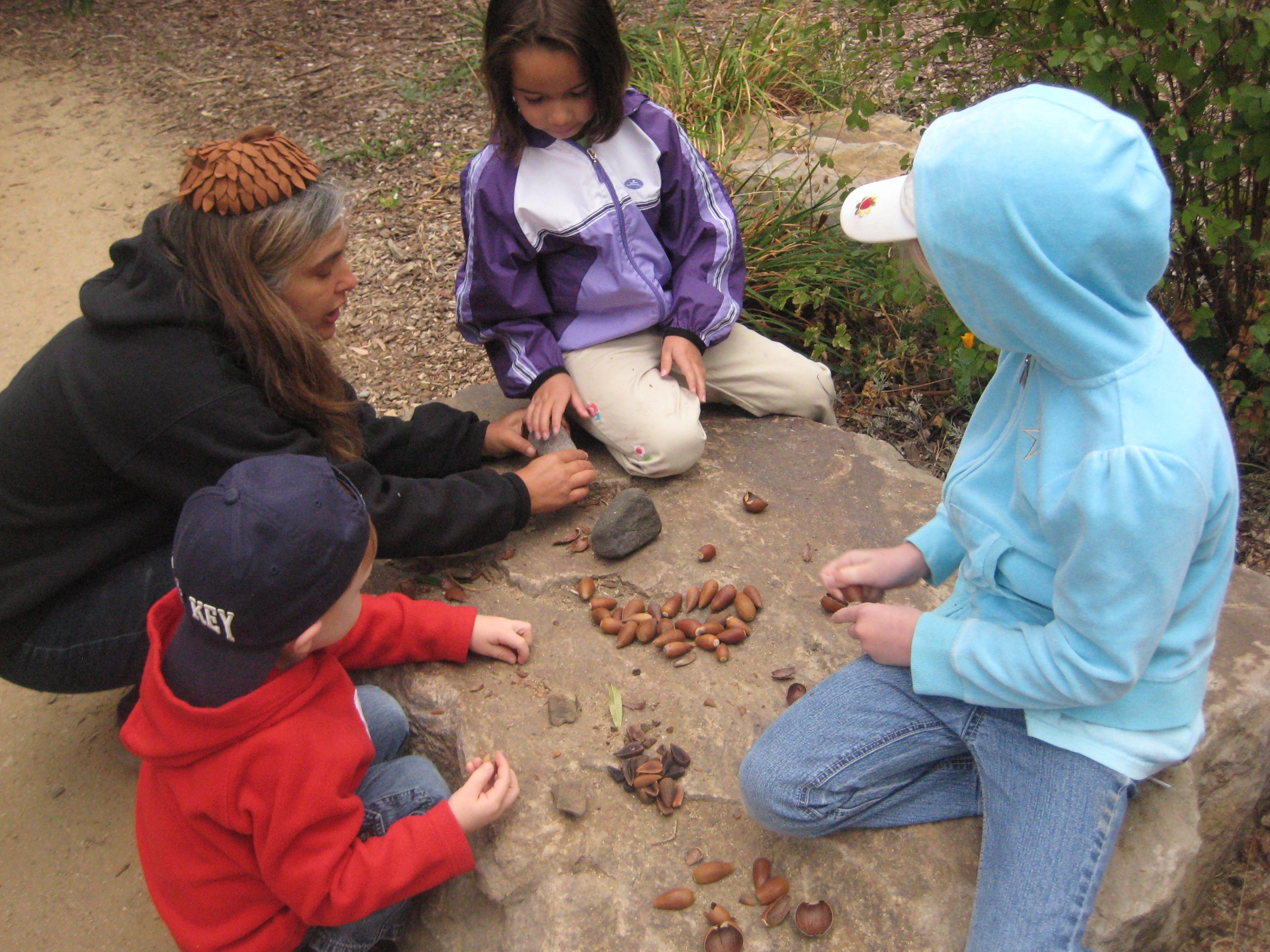 good acorn and kids pic
