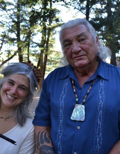 Bobby Lake-Thom and Jolie Elan at The Oak Ceremony 2014